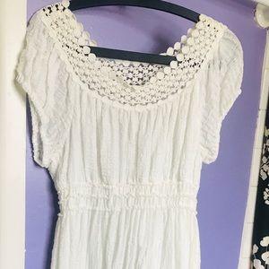 White Max Studio Dress Size XL